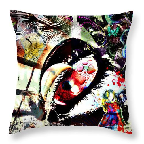 Jerry Cordeiro Throw Pillow featuring the photograph Regimen Of A Daydreamer by The Artist Project