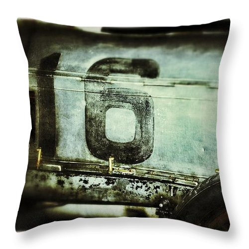 Car Throw Pillow featuring the photograph Reliable 16 by Scott Wyatt