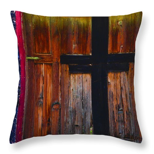 Revelation Throw Pillow featuring the photograph Revelation by Skip Hunt