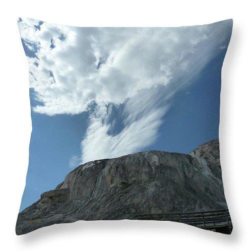 Landscape Throw Pillow featuring the photograph Risen by Lauren Leigh Hunter Fine Art Photography