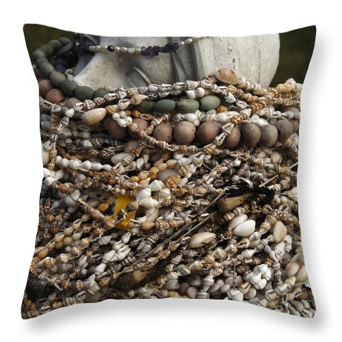 Hawaii Throw Pillow featuring the photograph Ritual by Bob Christopher