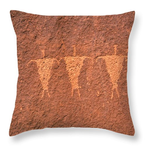 Fine Art Photography Throw Pillow featuring the photograph Rock Star Circa 1200 Ad by David Lee Thompson
