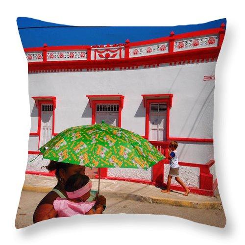 Rosarita Throw Pillow featuring the photograph Rosarita by Skip Hunt