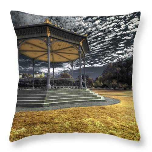 Rotunda Throw Pillow featuring the photograph Rotunda by Wayne Sherriff