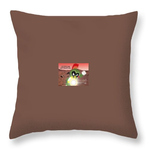 Rover Over Throw Pillow featuring the photograph Rover Over by Patrick Witz