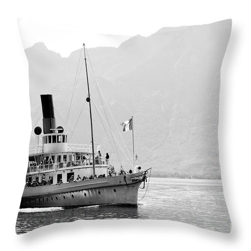 Photography Throw Pillow featuring the photograph Sail Away by Ivy Ho