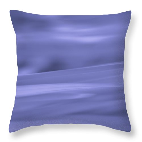 Purple Throw Pillow featuring the photograph See by Robin Konarz