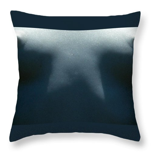 Breasts Throw Pillow featuring the photograph Shadow Light Breasts by Jeff Lowe
