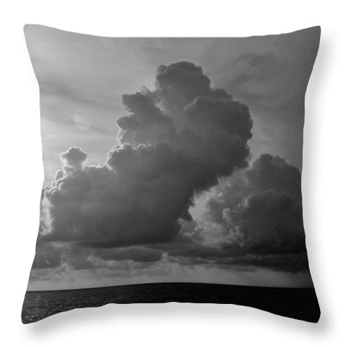 South Pacific Throw Pillow featuring the photograph South Pacific Sky by Eric Tressler