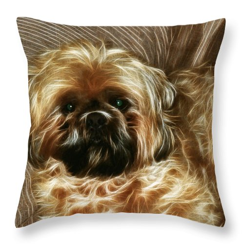 Spike Throw Pillow featuring the photograph Spike by Ericamaxine Price