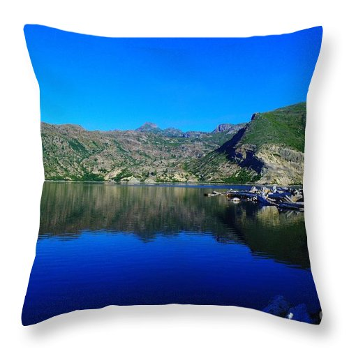 Lake Throw Pillow featuring the photograph Spirit Lake by Jeff Swan