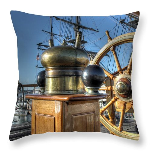 Star Of India Throw Pillow featuring the photograph Star Of India by Jane Linders