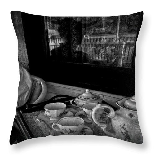 Tea Throw Pillow featuring the photograph Steeped Tea by The Artist Project