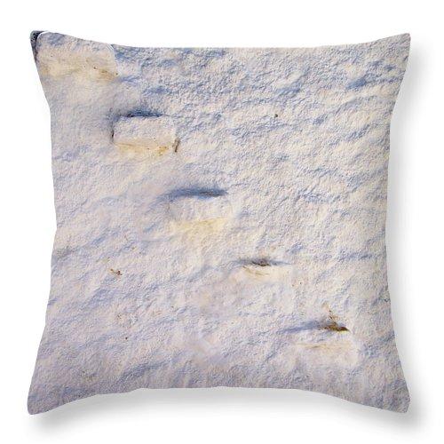 Jouko Lehto Throw Pillow featuring the photograph Steps Of The Wall by Jouko Lehto
