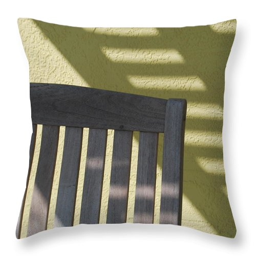 Still Life Throw Pillow featuring the photograph Still by Michael L Gentile