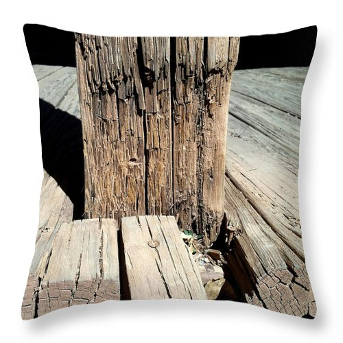 Tombstone Throw Pillow featuring the photograph Streets Of Tombstone 7 by Marlene Burns