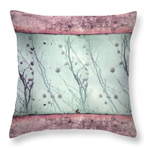 Texture Throw Pillow featuring the photograph Stuck In The Middle by Tara Turner