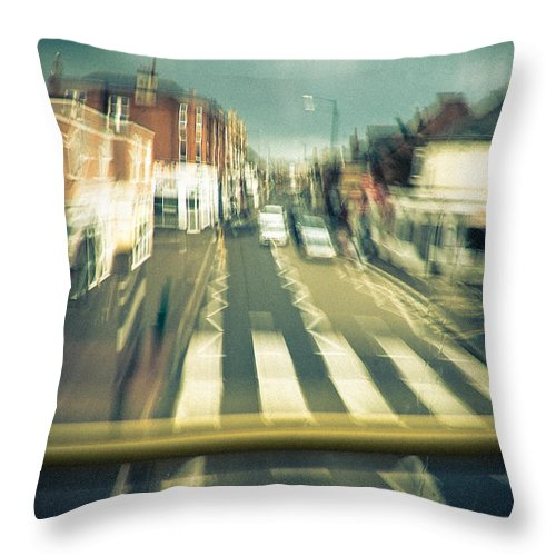 City Throw Pillow featuring the photograph Suburbia by Dorit Fuhg