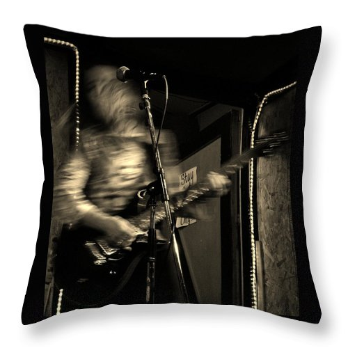 Music Throw Pillow featuring the photograph Susan by Chris Berry