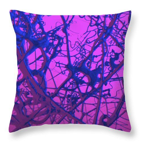 Sugar Throw Pillow featuring the painting Sweet by Jane Alexander