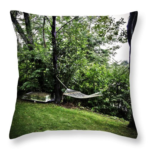 Swing Throw Pillow featuring the photograph Swing Time by Madeline Ellis