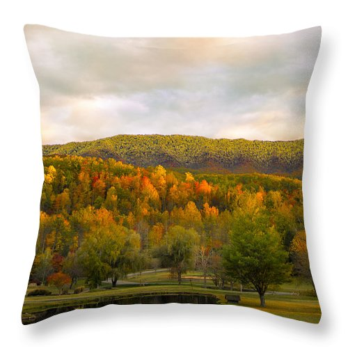 Tennessee Throw Pillow featuring the photograph Tennessee by Jeff Adkins