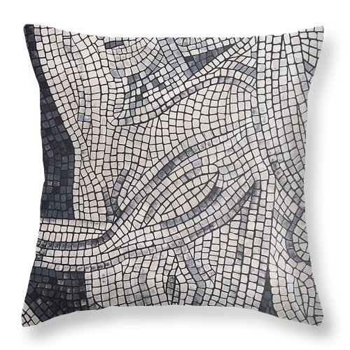 Hunt Throw Pillow featuring the painting The Hunter by Cynthia Amaral