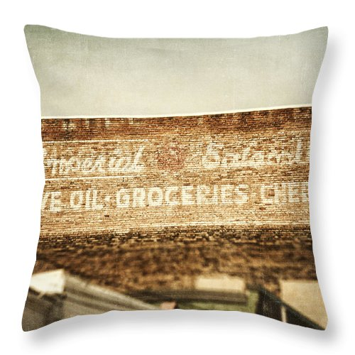 Pittsburgh Throw Pillow featuring the photograph The Imperial by Lisa Russo