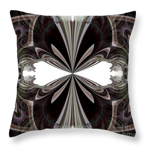 Jokesters Throw Pillow featuring the digital art The Jokesters by Maria Urso