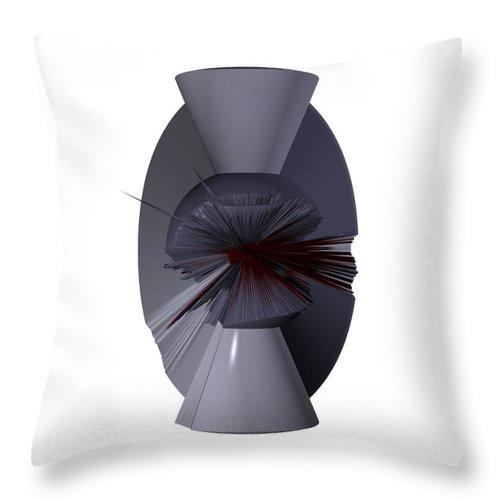 Digital Art Digital Art Throw Pillow featuring the digital art The Matrix Unloaded by Robert Margetts