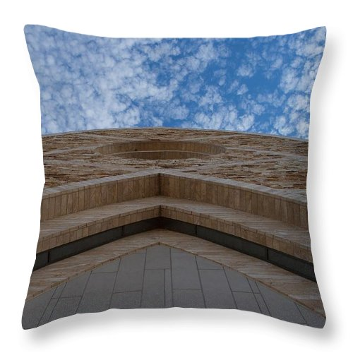 Ave Maria Throw Pillow featuring the photograph The Oratory Of Ave Maria by Joseph Yarbrough
