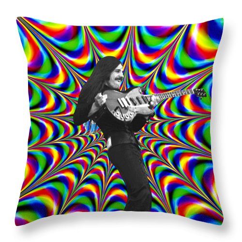 Mahogany Rush Throw Pillow featuring the photograph The Power Of A Mahogany Rush by Ben Upham