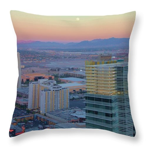 Sunset Throw Pillow featuring the photograph The Rest by Caroline Lomeli