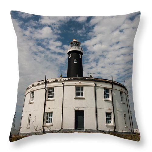 Boat Throw Pillow featuring the photograph The Round House by Dawn OConnor