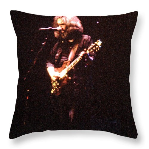 Throw Pillow featuring the photograph The Storyteller by Susan Carella