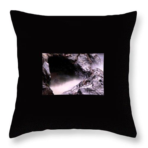 Tides Throw Pillow featuring the photograph Tides In Sunset by Rebecca Akporiaye
