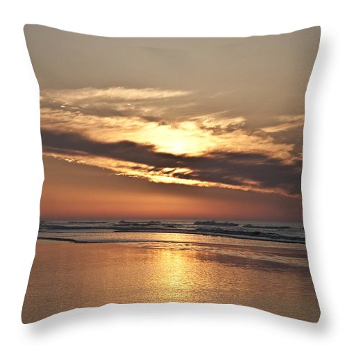 Till The Morning Comes Throw Pillow featuring the photograph Till The Morning Comes by Bill Cannon