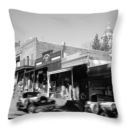 Auburn Throw Pillow featuring the photograph Timeless Auburn by Diego Re