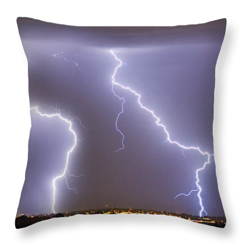 james Insogna Throw Pillow featuring the photograph To The Right Right To The Left Left by James BO Insogna