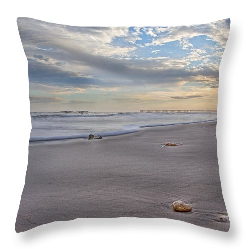 Topsail Throw Pillow featuring the photograph Topsail Living by Betsy Knapp