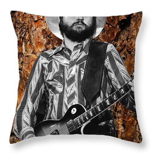 Toy Caldwell Throw Pillow featuring the photograph Toybark by Ben Upham