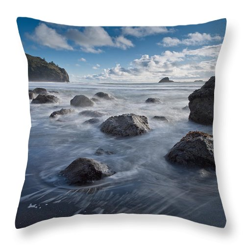 Trinidad Throw Pillow featuring the photograph Trinidad Afternoon by Greg Nyquist