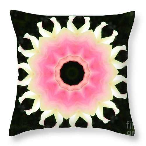 Digital Design Throw Pillow featuring the photograph Tulips by Mark Gilman