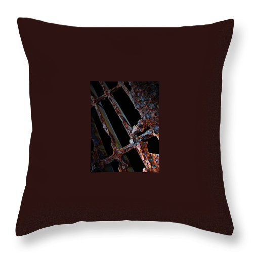 Street Art Throw Pillow featuring the photograph Under The Street by The Artist Project