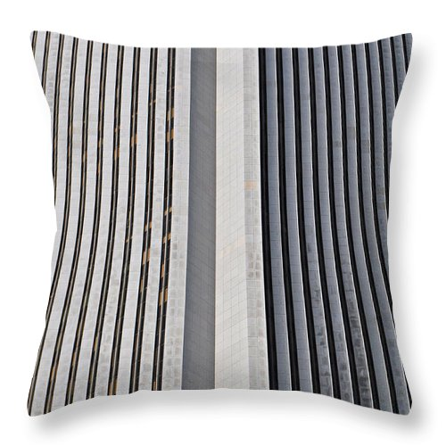 Vertical Throw Pillow featuring the photograph Upright by Mary Machare