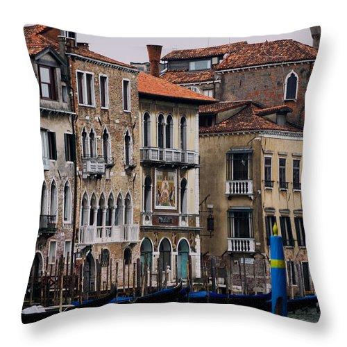 Venice Throw Pillow featuring the photograph Venice by Ivan Slosar