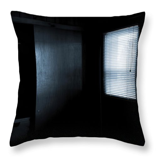 Lauren Radke Throw Pillow featuring the photograph Waiting by Lauren Radke