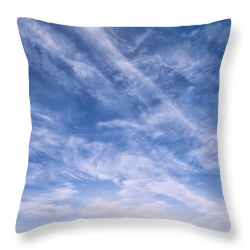 Landscape Throw Pillow featuring the photograph Washington Under The Deep Blue Dome by Jim Moore