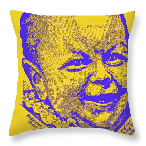 Laughing Baby Throw Pillow featuring the photograph what is so funny big ears IV by Diane montana Jansson