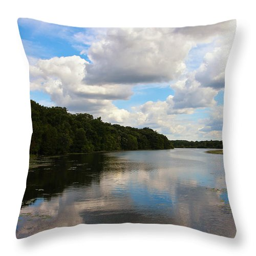 When The Wind Blew Throw Pillow featuring the photograph When The Wind Blew by Rachel Cohen